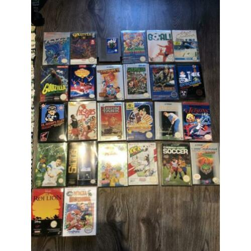 Nintendo nes collectie titels G - L