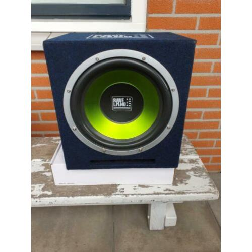 Rave Land subwoofer plus versterker